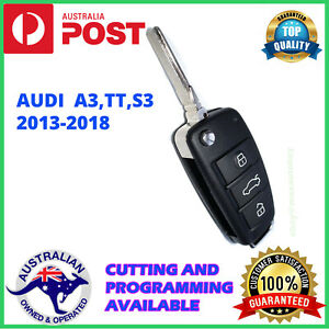 AUDI A3 S3 RS3 Q1 Q2 KEY WITH KEYLESS GO * PROGRAMMING AVAILABLE