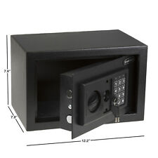 Handgun Digital Steel Safe Electronic Lock Secure Pistol Box Storage Valuables