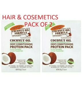 2 x Palmers Coconut Oil Formula Deep Conditioning Protein Pack (60g) Pack of 2!!