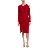 Women's Size 2 - NWOT New $358 BLACK HALO Red Sheath Dress