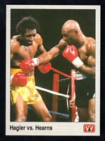 1991 All World Boxing Marvin Hasler VS. Thomas Hearns # 149 NRMINT / MINT