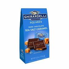 Ghirardelli Dark and Caramel Sea Salt, Chocolate Squares, 5.32 oz. Exp 10/2019