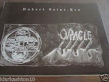 Hubert Saint-Eve: Oracle/ Centre Culturel de l'Abbaye des Prémontrés