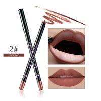12 Couleurs Crayon à Lèvres Waterproof Maquillage Beauté Mate Cosmétique