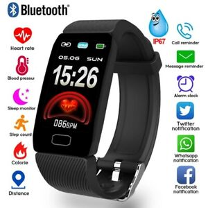 Smart Watch Wristband Bracelet Heart Rate Fitness Step Caolorie Tracker Monitor