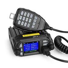QYT KT-8900D Dual Band Quad Standby VHF UHF 5Tone 25W Car/Truck Ham Mobile Radio