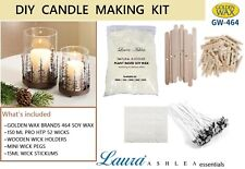 NATURAL SOY WAX CANDLE MAKING KIT - CHOOSE FROM 1KG, 2KG, 3KG, 5KG ~ GW464