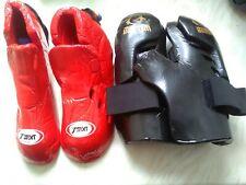 Warrior Macho Hand Pads Mitts & T-Sport Foot Protectors Medium Freestyle Karste