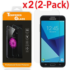 2-Pack Tempered Glass Screen Protector For Samsung Galaxy J7 2017 / J7 Sky Pro