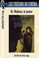DVD Dr. Mabuse (Dr. Mabuse, der Spieler) - Fritz Lang - 2 DVD Set / IMPORT