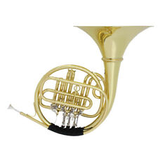 Four Keys Brass Trumpet Instrument with Cleaning Kit Brush Cloth Gloves Set