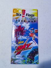 six flags great adventure map | eBay on six flags nj map, magic springs and crystal falls map, dorney park map, washington street mall map, kingda ka map, mt. olympus water & theme park map, kiddieland map, kennywood map, holiday world santa claus indiana map, the gallery at market east map, penn hills resort map, knott's berry farm map, magic kingdom map, 2014 six flags magic mountain map, great america map, cedar point map, thorpe park map, wyandot lake map, big e fair map, 2014 six flags over georgia map,