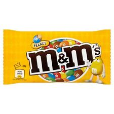 M&M's Chocolate Covered Peanuts with Crispy Sugar Coating 45g 1.6oz