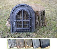 35x42,5cm Cast iron fire door clay / bread oven / pizza stove smoke house DZ020