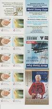 1999, Australian Legends, Arthur Boyd, SG SB 127, World Stamp Expo OVERPRINT