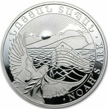1 Onza de plata - Arca de Noé - 500 Dram - 2016