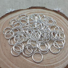 200/500 Federringe Silber Gold Biegeringe 4/6/8/10mm open jump rings Schmuck Hot
