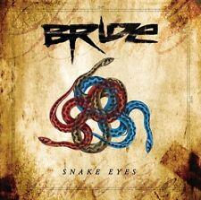BRIDE - SNAKE EYES (*NEW-CD, 2018, Retroactive) Christian Metal FREE 5x5 Sticker