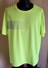 Fila Sport Live In Motion 2XL XXL Men's T-Shirt Neon Green