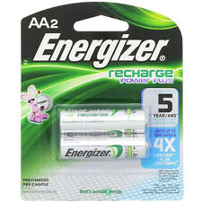 Energizer Rechargeable Power Plus AA 2300 mAh 2 Batteries