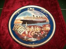 1999 Bradford Exc Titanic Queen of the Ocean Plate 4th Issue The Smoking Room