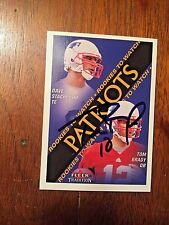 2000 FLEER TRADITION TOM BRADY Signed Autograph ROOKIE Super Bowl Patriots JSA
