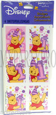 Winnie the Pooh 1st Birthday Pink Stickers Favors Birthday Party Supplies