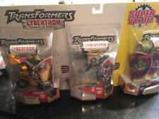 Transformers Cybertron 3 Pack Primes Unleashed Landmine Snarl Dirt Boss Robots