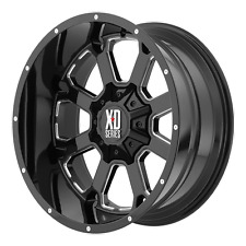 """20"""" 20x10 XD825 XD BUCK 8x180 2011+ Chevy GMC 33"""" MT Wheel and Tire Package"""