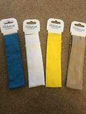 New 4 X Girls Stretch Head Bands Age 8