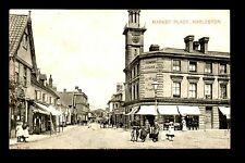 Harleston - Market Place -  printed postcard