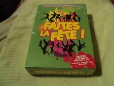 """COFFRET CD + COTILLONS NEUF """"FAITES LA FETE"""""""