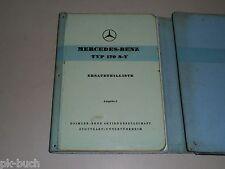 Ersatzteilkatalog Ersatzteilliste Mercedes Benz W 136 Typ 170 S V, Stand 08/1953
