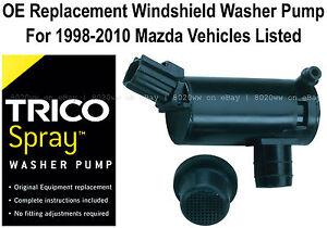 Windshield / Wiper Washer Fluid Pump - Trico Spray 11-521