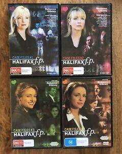 Halifax F.P. Case Files 1,2,3,4 DVD 12 Discs Rebecca Gibney Australian TV Drama