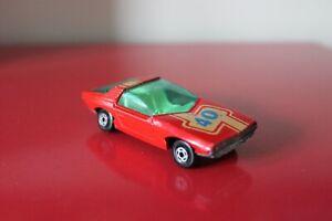 "Matchbox 3"" VAUXHALL GUILDSMAN Diecast CAR 1971 Lesney VINTAGE Red SUPERFAST *40"