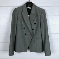 STELLA MCCARTNEY IT 40 US 4 6 Giacca Blazer Wool Double Breasted Jacket Gray