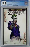 Joker Year of the Villain #1 CGC 9.8 DC Comics 2019. Scorpion Comics Cover A