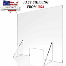 Sneeze Guard Protection Barrier Shield Checkout Counter Desk