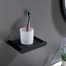 Black Toothbrush Holder Bathroom Cup Tumbler Holder Hotel Bathroom Accessories