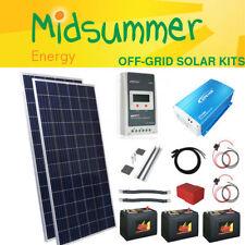 Home/Garden 300 W or More 12 V Home Solar Panels