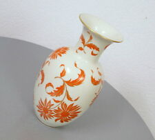 Royal KM Porzellan Vase Tischvase Blumenvase 28 cm Handarbeit Vintage 50er Jahre