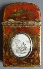 Boite OR massif et Vernis Martin 18e siècle nécessaire de voyage 18th gold box