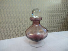 Empty Glass Perfume Scent Bottle