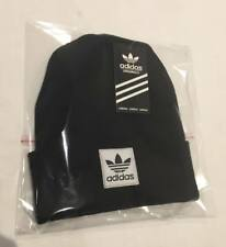 Adults Adidas  Beanie Mens Womens hats warm winter( black )free postage.on sale