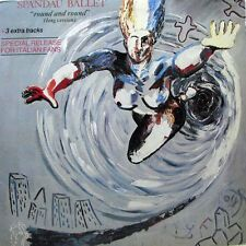 SPANDAU BALLET Round & Round LP - Special Italian Release + Poster