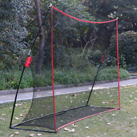 10 x 7 Portable Golf Net Practice Large Hitting Area+ XL Tri-Turf Golf Mat Grass