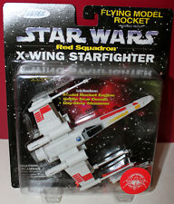 Star Wars Estes Flying Model Rocket X - Wing Red Squadron Starfighter Moc
