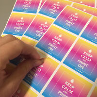 420 Digitaldruck Werbeaufkleber Etiketten DIN A10