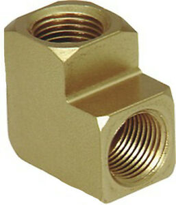 "Brass 90° Elbow Extruded, Female Pipe Size 1/8"" -27 Kent 5320"